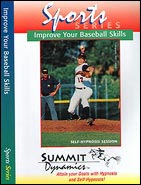 improve baseball with self hypnotherapy cd's
