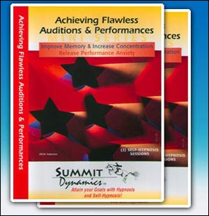 2 CD Mini Series: Achieving Flawless Auditions & Performances Series